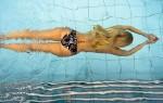 Посещение бассейна, занятия плавание и аквааэробикой при варикозе