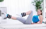 Топ-10 упражнений от отеков ног