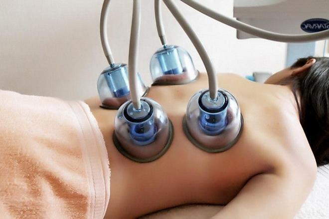 Лечение градиентной вакуумной терапией