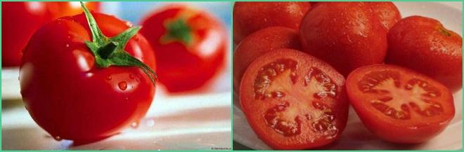Компресс с помидорами