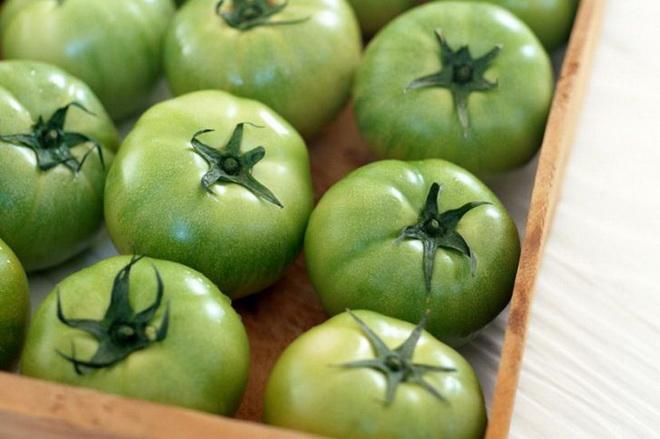 Лечение варикоза зелеными помидорами