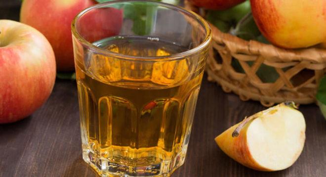 Раствор яблочного уксуса для употребления внутрь
