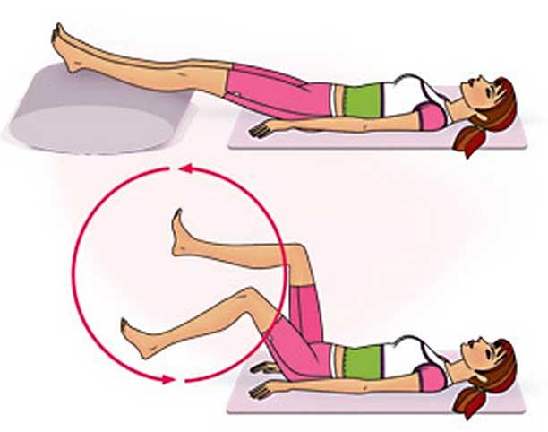Упражнения при отеке ног