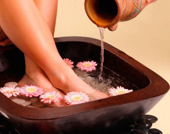 Ванночки с медом для ног от варикоза