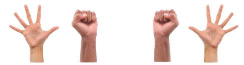 Сжимание-разжимание кулаков