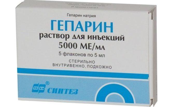 Инъекции гепарина