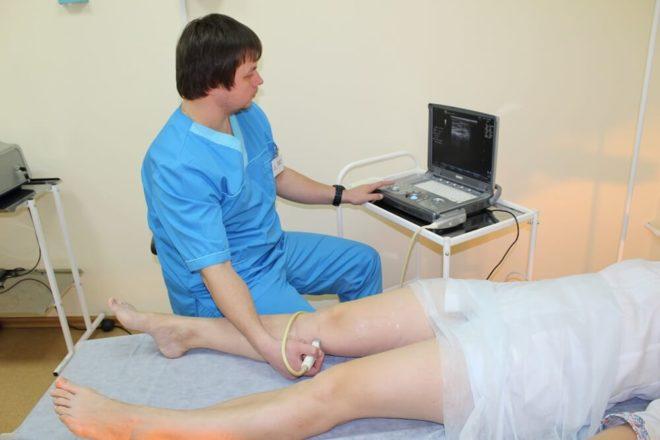 Диагностика флебопатии