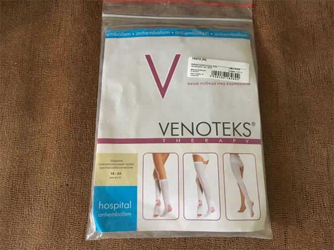 Антиварикозные чулки Венотекс