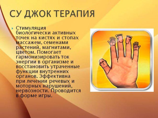 Su-Dzhok-terapiya