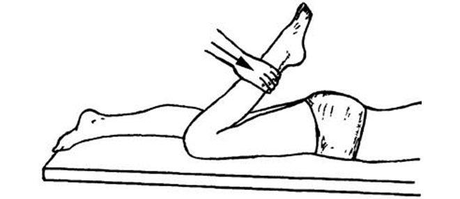 Тест мышцы бедра