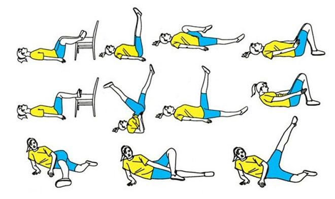 Лечебная гимнастика для ног при варикозе
