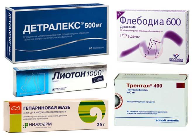 Лечение вен при варикозе лекарствами