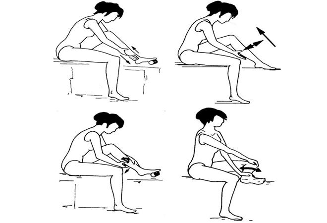 Базовый массаж при отеках ног