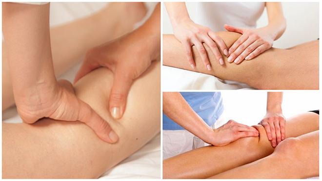 Лимфодренажный массаж при отеках ног