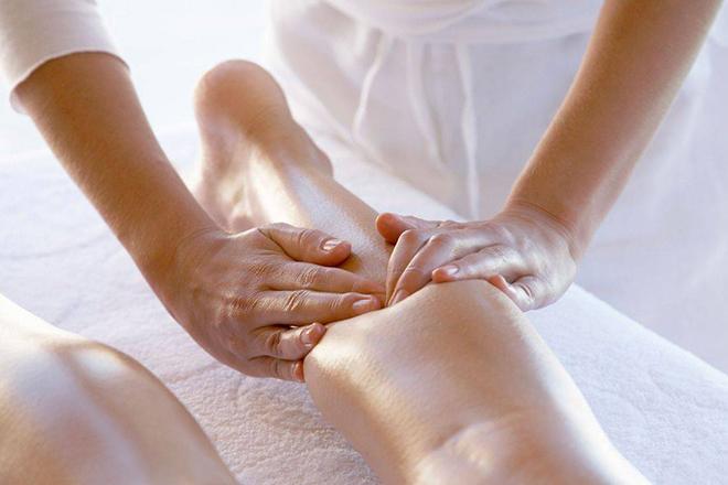 Сегментарный массаж при отеках ног