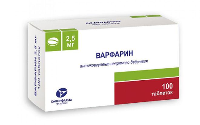Варфарин при венозной недостаточности