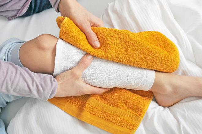 Народные методы против судорог ног